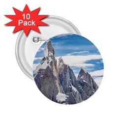 Cerro Torre Parque Nacional Los Glaciares  Argentina 2.25  Buttons (10 pack)
