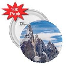 Cerro Torre Parque Nacional Los Glaciares  Argentina 2.25  Buttons (100 pack)