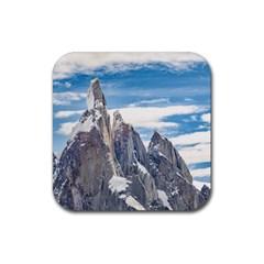 Cerro Torre Parque Nacional Los Glaciares  Argentina Rubber Coaster (Square)