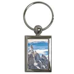 Cerro Torre Parque Nacional Los Glaciares  Argentina Key Chains (Rectangle)