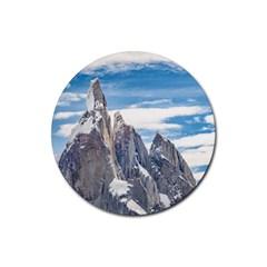 Cerro Torre Parque Nacional Los Glaciares  Argentina Rubber Round Coaster (4 pack)