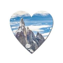 Cerro Torre Parque Nacional Los Glaciares  Argentina Heart Magnet