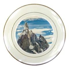 Cerro Torre Parque Nacional Los Glaciares  Argentina Porcelain Plates