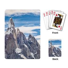 Cerro Torre Parque Nacional Los Glaciares  Argentina Playing Card