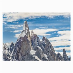 Cerro Torre Parque Nacional Los Glaciares  Argentina Large Glasses Cloth (2-Side)