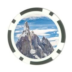 Cerro Torre Parque Nacional Los Glaciares  Argentina Poker Chip Card Guard