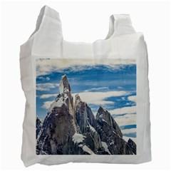 Cerro Torre Parque Nacional Los Glaciares  Argentina Recycle Bag (Two Side)