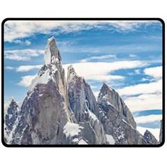 Cerro Torre Parque Nacional Los Glaciares  Argentina Fleece Blanket (Medium)