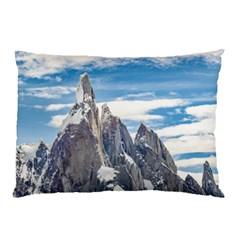 Cerro Torre Parque Nacional Los Glaciares  Argentina Pillow Case (Two Sides)
