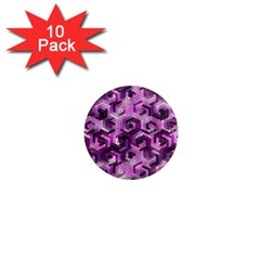 Pattern Factory 23 Pink 1  Mini Magnet (10 pack)