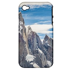 Cerro Torre Parque Nacional Los Glaciares  Argentina Apple iPhone 4/4S Hardshell Case (PC+Silicone)