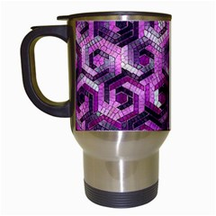 Pattern Factory 23 Pink Travel Mugs (White)