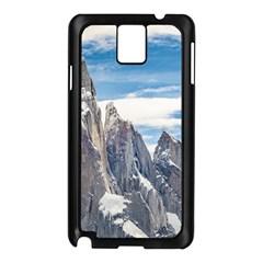 Cerro Torre Parque Nacional Los Glaciares  Argentina Samsung Galaxy Note 3 N9005 Case (Black)