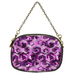 Pattern Factory 23 Pink Chain Purses (One Side)