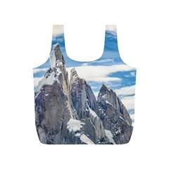 Cerro Torre Parque Nacional Los Glaciares  Argentina Full Print Recycle Bags (S)