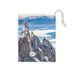 Cerro Torre Parque Nacional Los Glaciares  Argentina Drawstring Pouches (Medium)