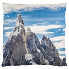 Cerro Torre Parque Nacional Los Glaciares  Argentina Large Flano Cushion Case (One Side)