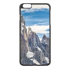 Cerro Torre Parque Nacional Los Glaciares  Argentina Apple iPhone 6 Plus/6S Plus Black Enamel Case
