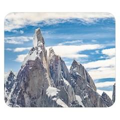Cerro Torre Parque Nacional Los Glaciares  Argentina Double Sided Flano Blanket (Small)