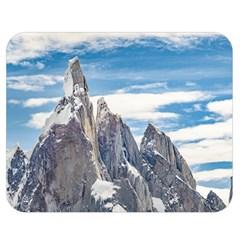 Cerro Torre Parque Nacional Los Glaciares  Argentina Double Sided Flano Blanket (Medium)