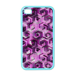 Pattern Factory 23 Pink Apple iPhone 4 Case (Color)