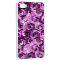 Pattern Factory 23 Pink Apple iPhone 4/4s Seamless Case (White)