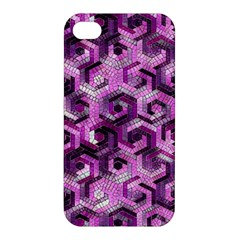 Pattern Factory 23 Pink Apple iPhone 4/4S Hardshell Case