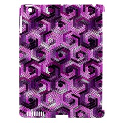 Pattern Factory 23 Pink Apple iPad 3/4 Hardshell Case (Compatible with Smart Cover)