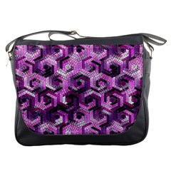Pattern Factory 23 Pink Messenger Bags