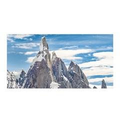 Cerro Torre Parque Nacional Los Glaciares  Argentina Satin Wrap