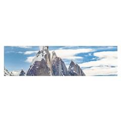 Cerro Torre Parque Nacional Los Glaciares  Argentina Satin Scarf (Oblong)