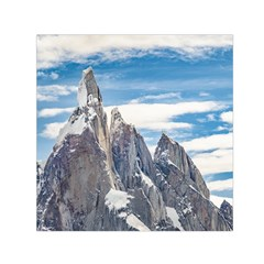 Cerro Torre Parque Nacional Los Glaciares  Argentina Small Satin Scarf (Square)