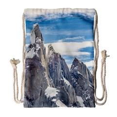 Cerro Torre Parque Nacional Los Glaciares  Argentina Drawstring Bag (Large)