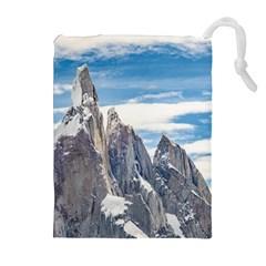 Cerro Torre Parque Nacional Los Glaciares  Argentina Drawstring Pouches (Extra Large)