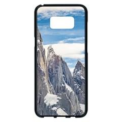Cerro Torre Parque Nacional Los Glaciares  Argentina Samsung Galaxy S8 Plus Black Seamless Case