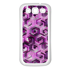Pattern Factory 23 Pink Samsung Galaxy S3 Back Case (White)