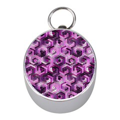 Pattern Factory 23 Pink Mini Silver Compasses