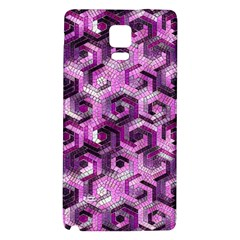 Pattern Factory 23 Pink Galaxy Note 4 Back Case