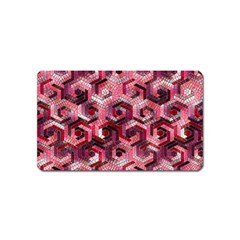 Pattern Factory 23 Red Magnet (Name Card)