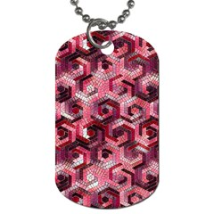 Pattern Factory 23 Red Dog Tag (One Side)