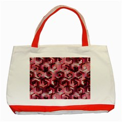 Pattern Factory 23 Red Classic Tote Bag (Red)