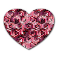 Pattern Factory 23 Red Heart Mousepads