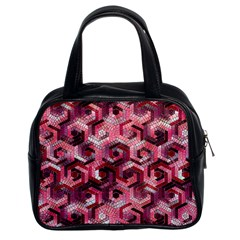 Pattern Factory 23 Red Classic Handbags (2 Sides)