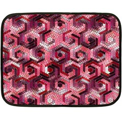 Pattern Factory 23 Red Fleece Blanket (Mini)