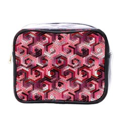 Pattern Factory 23 Red Mini Toiletries Bags