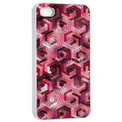 Pattern Factory 23 Red Apple iPhone 4/4s Seamless Case (White)