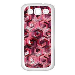 Pattern Factory 23 Red Samsung Galaxy S3 Back Case (White)