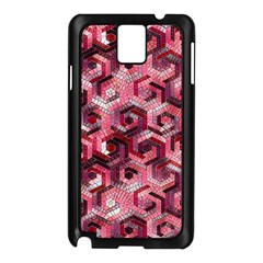 Pattern Factory 23 Red Samsung Galaxy Note 3 N9005 Case (Black)