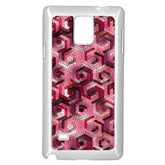 Pattern Factory 23 Red Samsung Galaxy Note 4 Case (White)