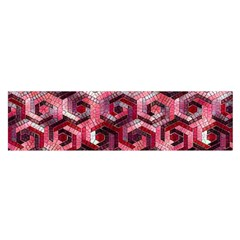 Pattern Factory 23 Red Satin Scarf (Oblong)
